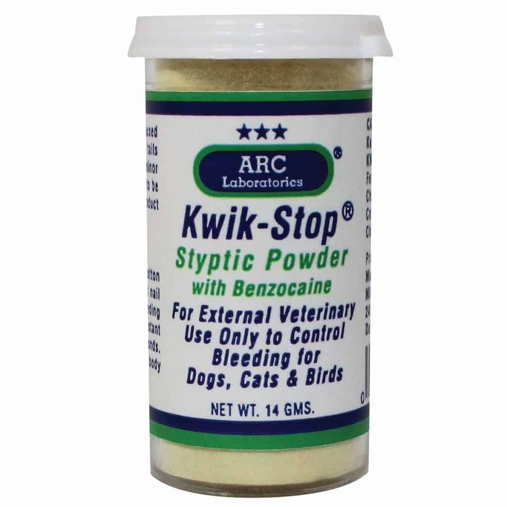 Bird Grooming Products: ARC Laboratories Kwik-Stop Styptic Powder
