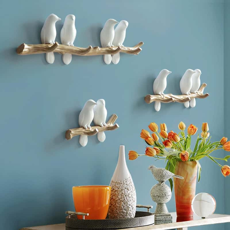 A Multi-Purpose Birds House Key Holder